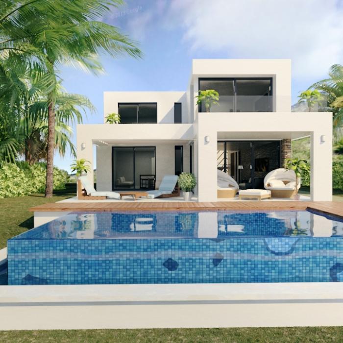 Villa Types Floor Plans Buena Vista Hills